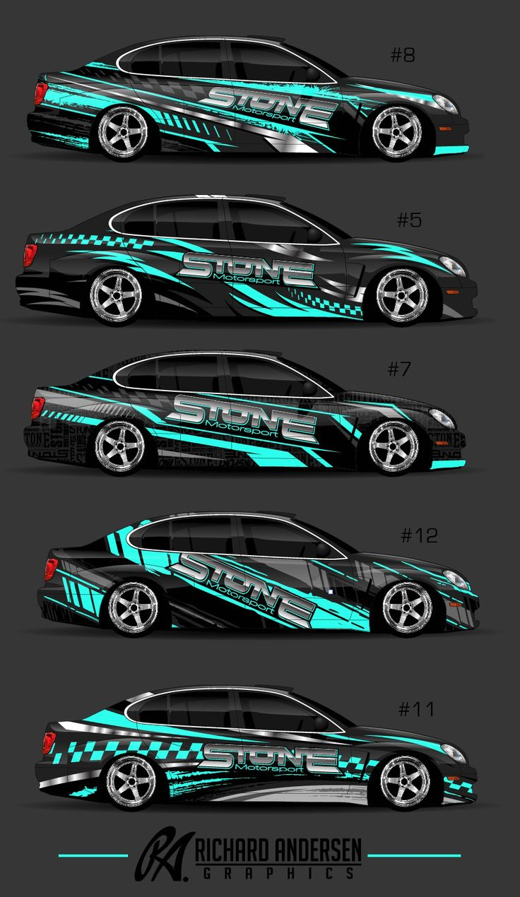 Best car sticker design - Wrap Design By Richard Andersen Https Ragraphics Carbonmade Com M S