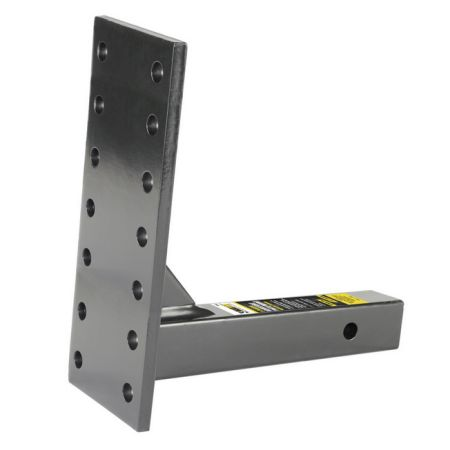 MaxxHaul 70247 2 inch Receiver Mount Pintle Hook Adaptor with 14 Holes