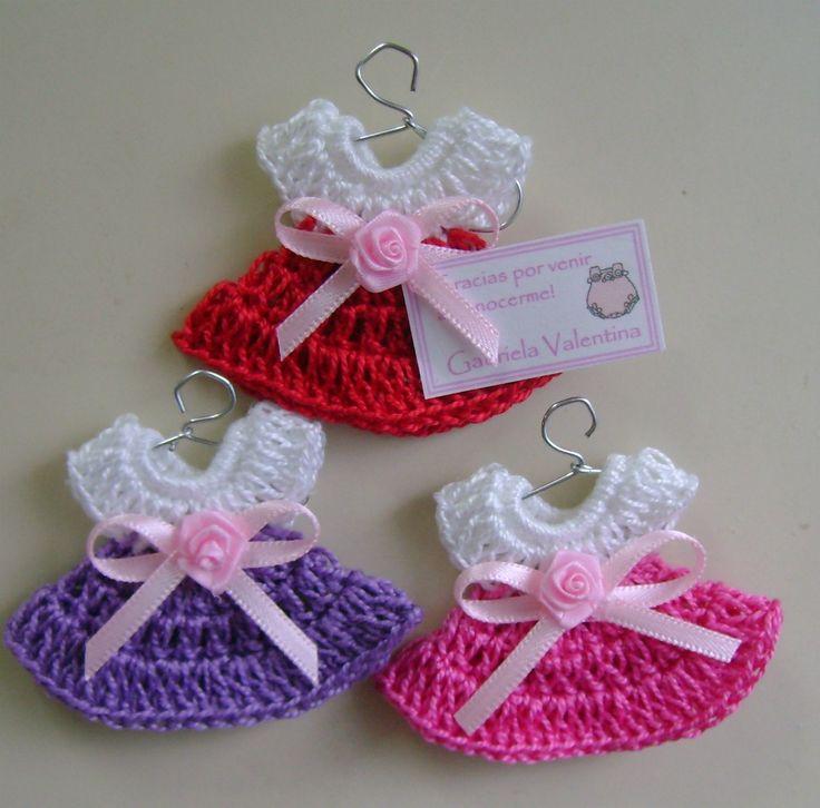 15 opciones de recuerdos para baby shower a crochet - Recuerdos para cumpleanos ...