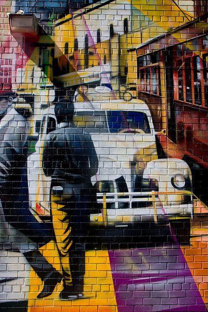 Kobra Mural in New York's Chelsea | Eduardo Kobra street artist | #mural #street_art #graffiti