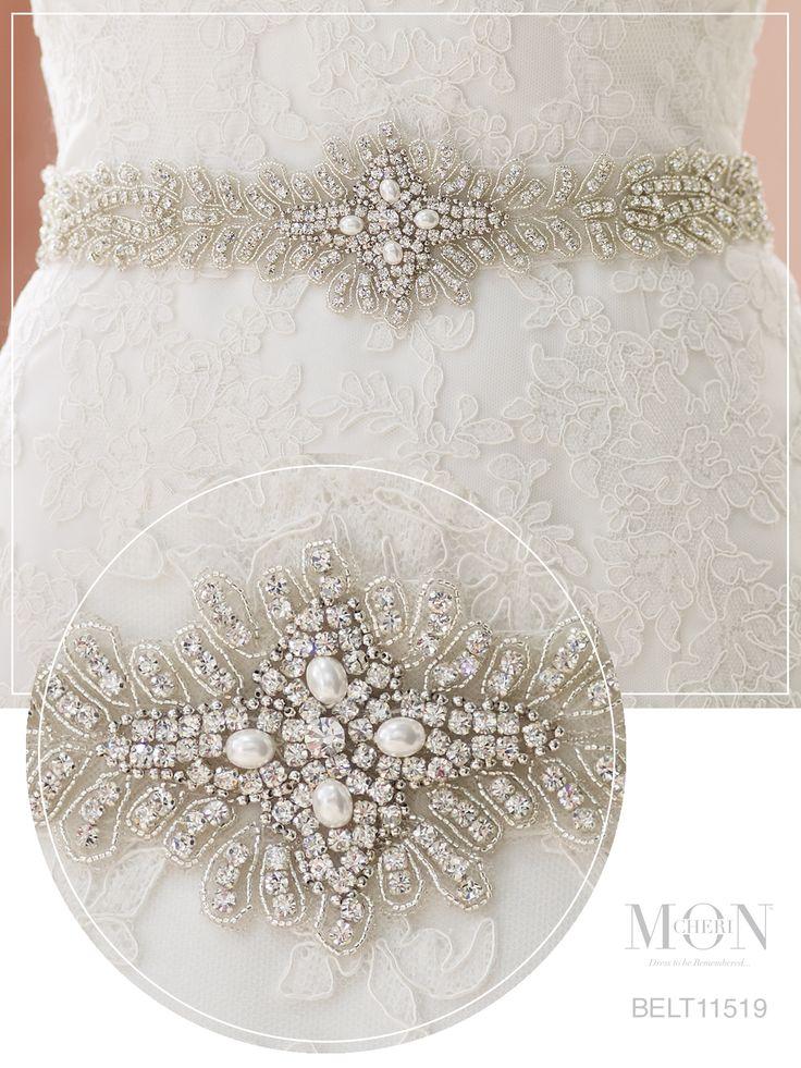 25 cute pearl wedding dresses ideas on pinterest black for Pearl belt for wedding dress