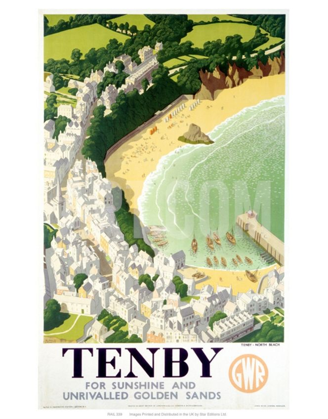 ~ Tenby ~ holiday destination and future <3 HOME <3 ~