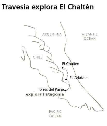 Travessia explora El Chalten