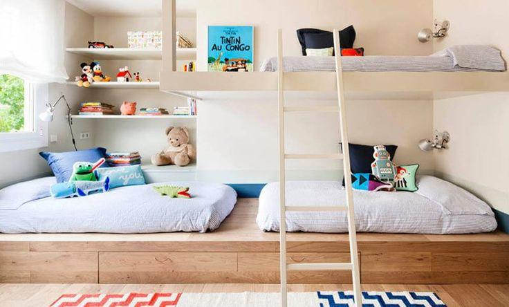 Bellissima soluzione per la camera dei bambini.