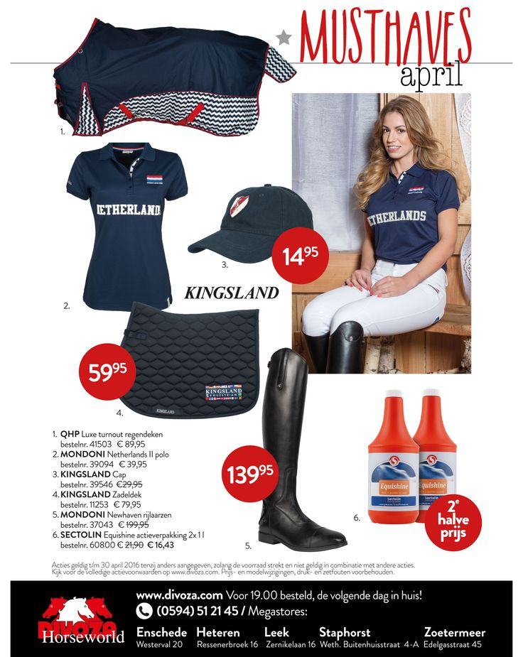 #musthaves #april van #divoza #horseworld #ruitersport #equestriansport #horse #paard #mode #fashion #ruiter #rider
