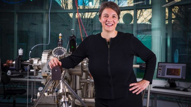 """Quantum physicist Michelle Simmons has been named 2018 Australian of the Year, in recognition of her work in the """"space race of the computing era""""."""