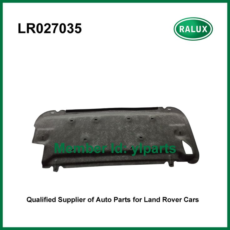 LR027035 new auto hood insulator for Range Rover Evoque 2012- vehicles car hood insulator spare parts supply on hot sale  #Affiliate