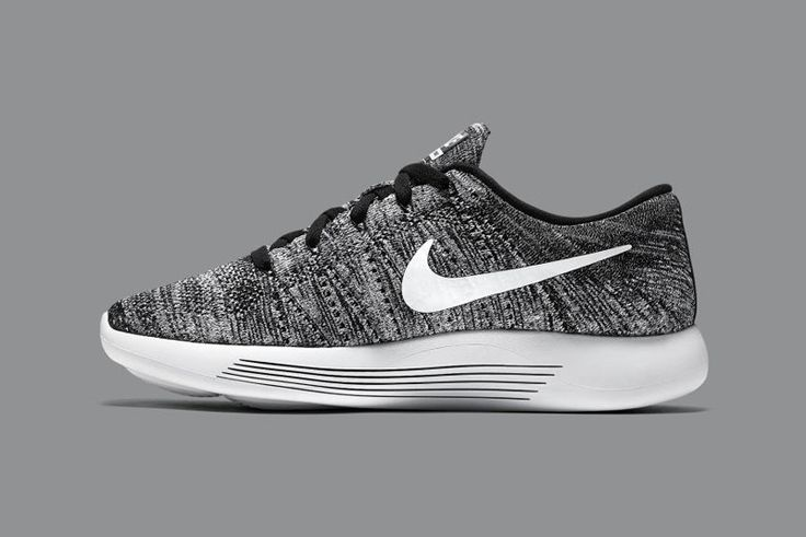 the nike lunarepic flyknit gets dunked in an oreo colorway