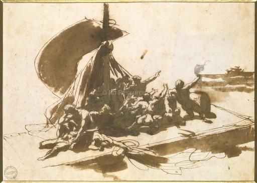 analysis of the raft The raft of the medusa romantic characteristics what characteristics in the painting the raft of the medusa qualify the work as romantic the following are possible.