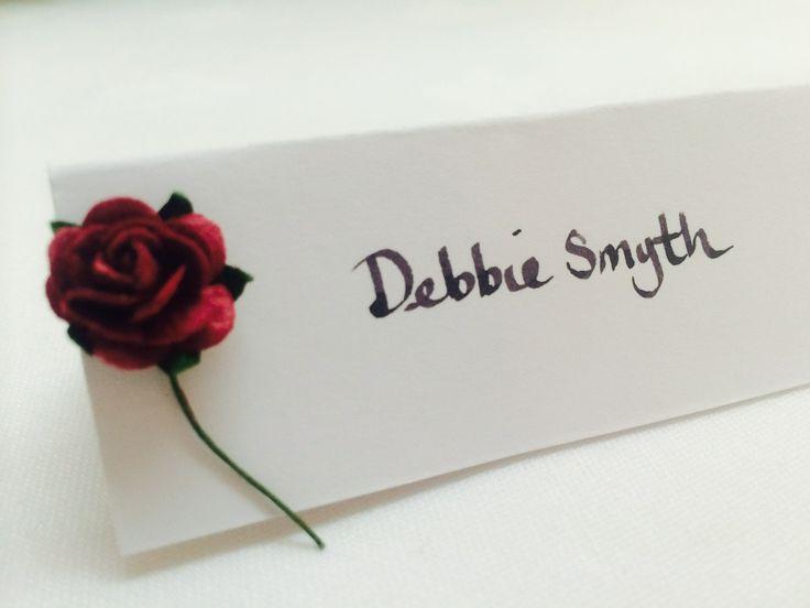 Gorgeous red rose design