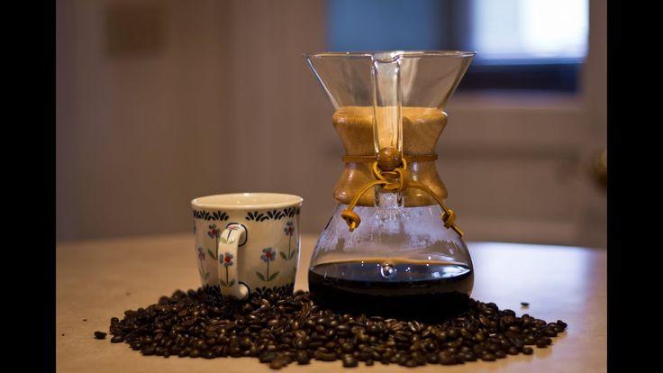 Como Preparar Café con una Cafetera Chemex- CocinaTv por Juan Gonzalo Angel