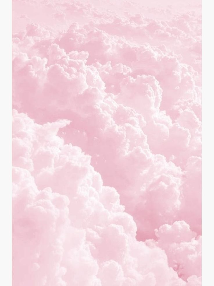 Pink Clouds Poster By Arealprincess Pink Clouds Wallpaper Pastel Pink Aesthetic Baby Pink Aesthetic