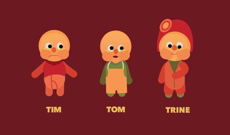 www.Klippoglim.no , Trondheim Kommune, Childcare, animated, characters