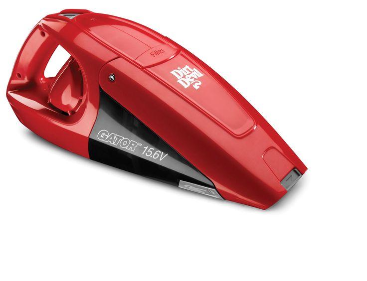 Amazon.com - Dirt Devil Gator 10.8V Cordless Bagless Handheld Vacuum, BD10100 - Household Handheld Vacuums