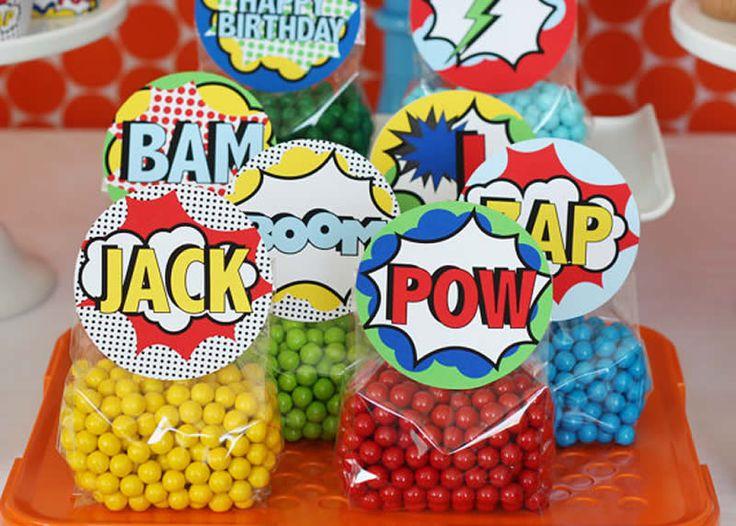 Doces Festa de Aniversário dos Super Heróis                                                                                                                                                      Mais