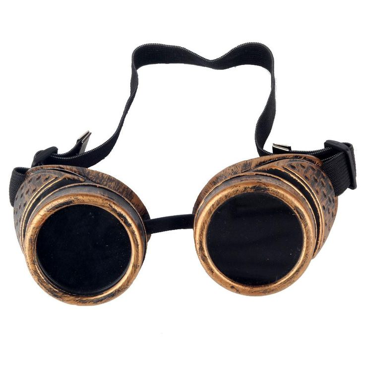 Best Quality Vintage Victorian Steampunk Goggles Glasses Welding Cyber Punk Gothic Cosplay