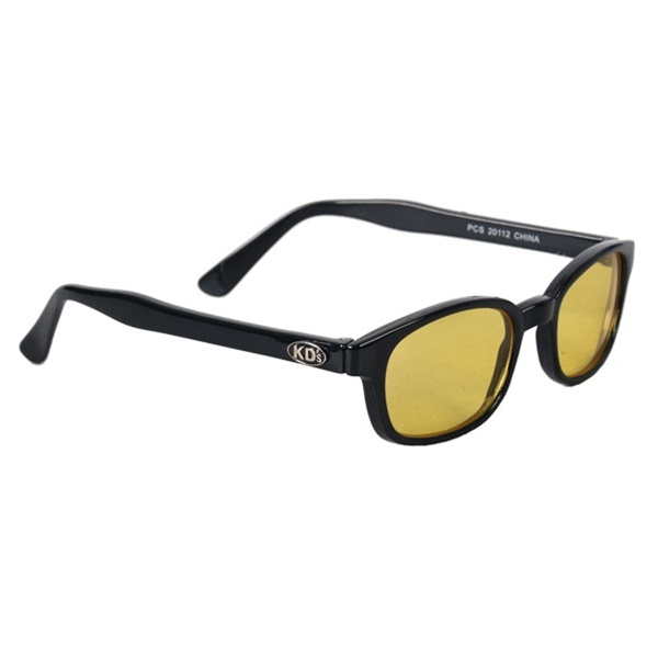 KD's Sunglasses - Yellow Lenses   #hotleathers
