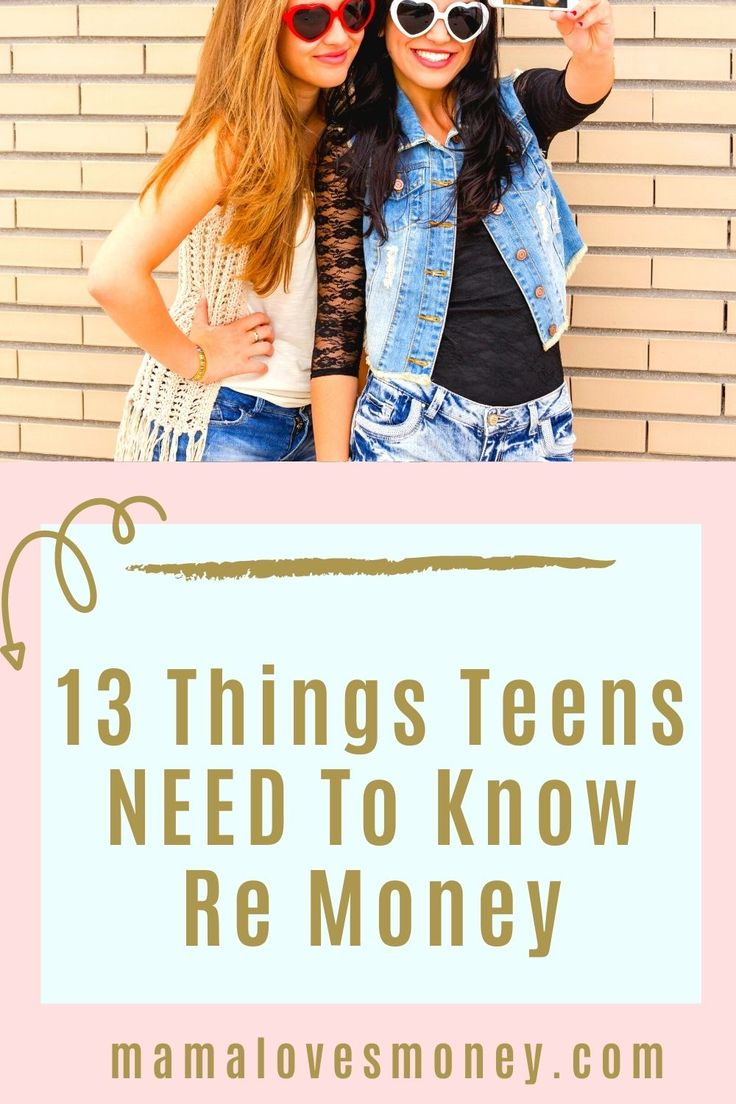 Money Management For Teens 13 Things Financially Savvy
