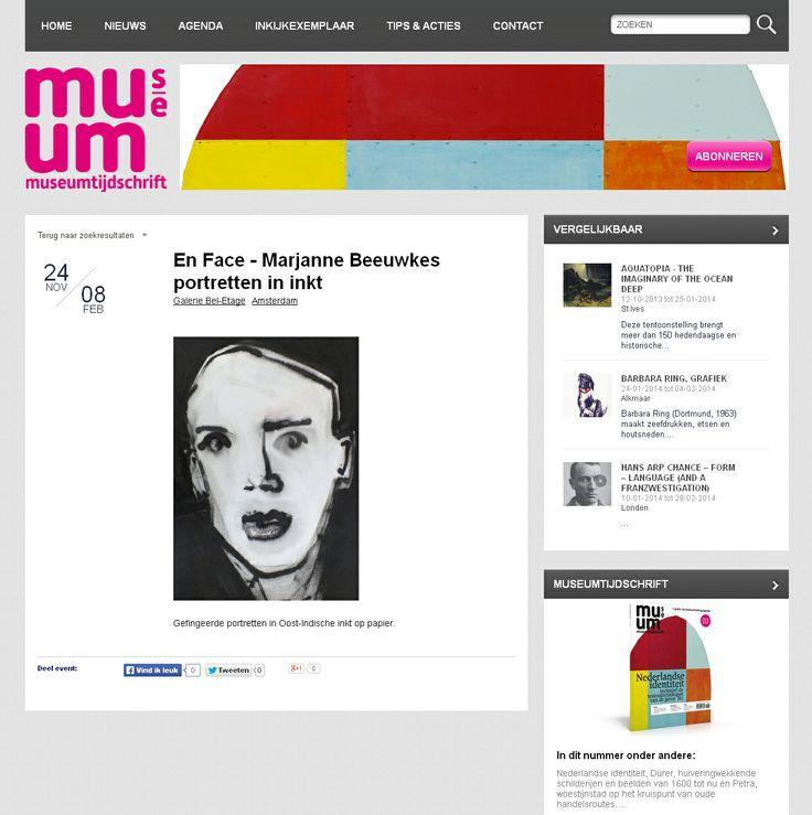 Marjanne Beeuwkes, expositie in Galerie Bel-Etage, Amsterdam