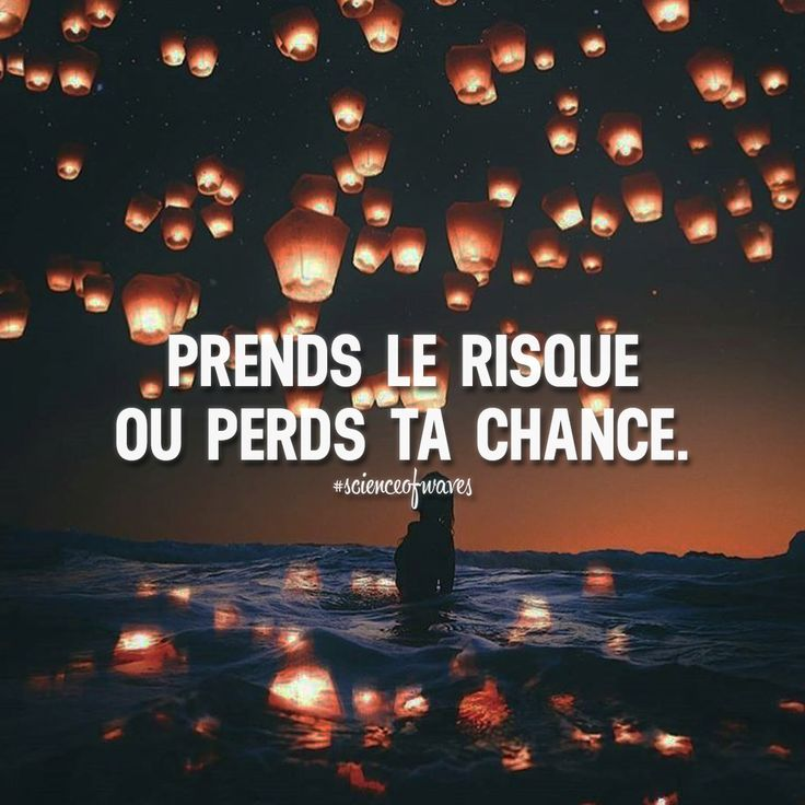 Via @scienceofwaves Prends le risque ou perds ta chance. Tu aimes? Fais le nous savoir, suis et partage avec tes amis! ➡️ @adillaresh for inspirational quotes! #scienceofwaves - Learn how I made it to 100K in one months with e-commer