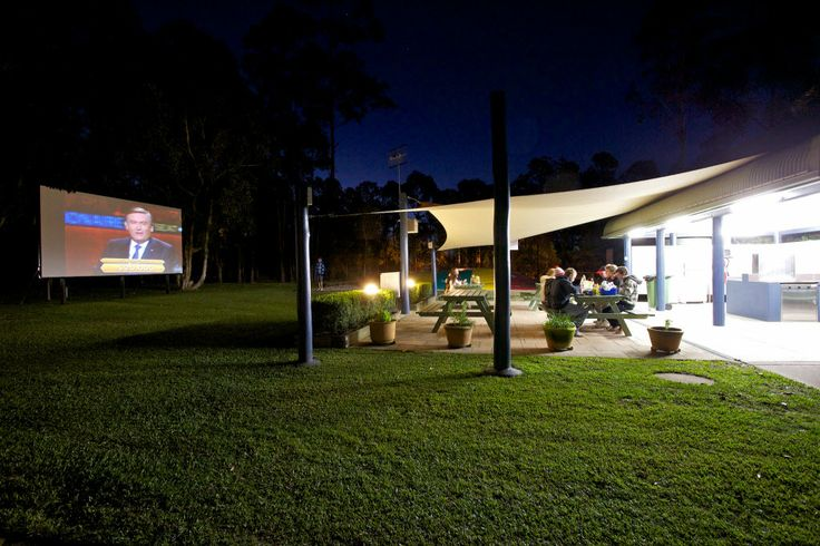 Camp Kitchen and Outdoor Theatre