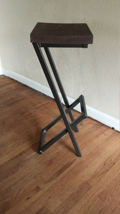 bar stool modern bar stool counter stool barstool by AlexMetalArt