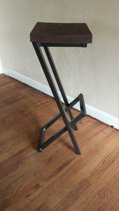 bar stool modern bar stool counter stool barstool by AlexMetalArt