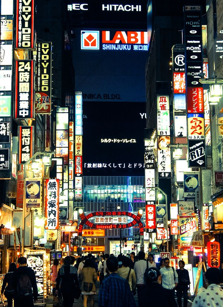 Kabukicho - An experience, for sure!