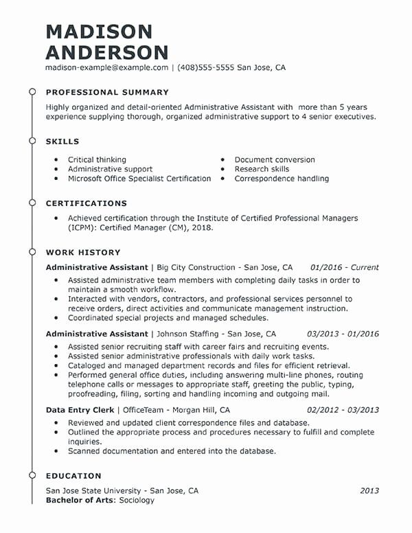 23 resume summary examples for administrative assistants