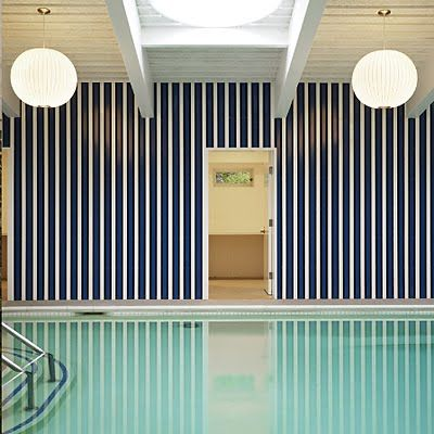 oh to have an indoor and graphic pool