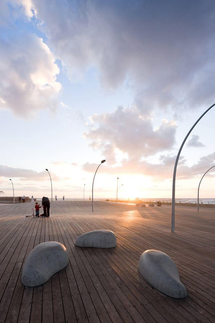 mayslits kassif architects: tel aviv port public space - wins rosa barba european landscape prize