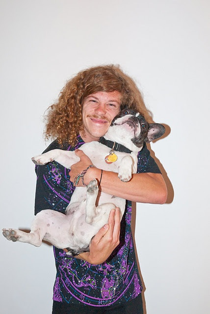 Blake Anderson + French Bull Dogs = <3