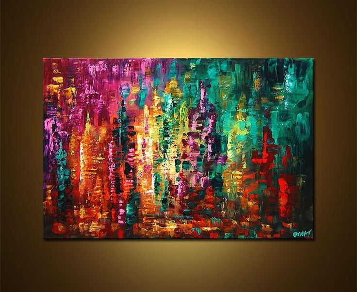 Abstract Art | Original Abstract Art - Modern Art and Landscape Paintings by Osnat ...