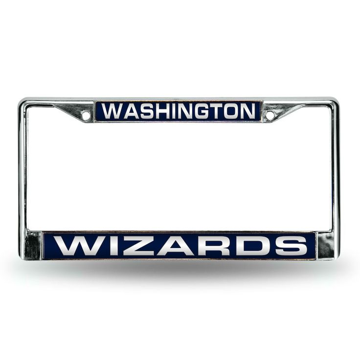 Washington Wizards License Plate Frame License Plate