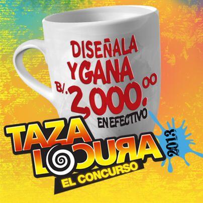 Participa en la ¡Taza Locura 2013, El Concurso!. Tu diseño puede hacer parte de la próxima colección.