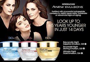 Avon Anew skin care  rdunaway.avonrepresentative.com