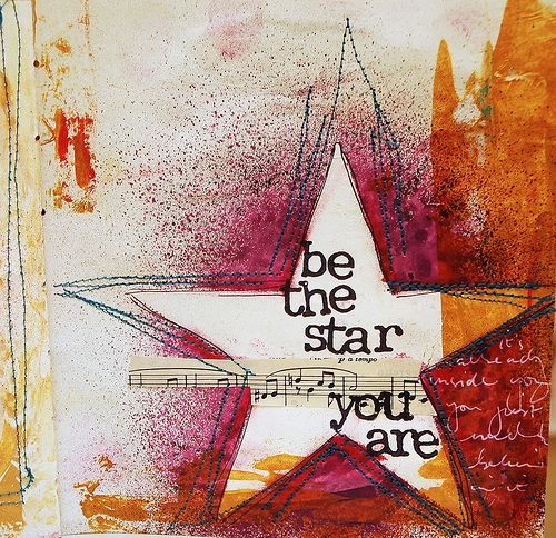 I'm a star because I like to accomplished my goals