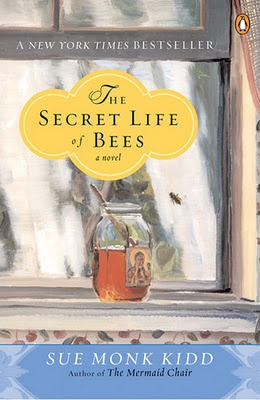 The Secret Life of Bees.   Lily Owens is a 1960's runaway in search of her dead mother's past.  Her clues lead her to a pink house and a charismatic household of beekeeping black women.  As Lily acquaints herself with bee society, learns about the Black Madonna the sisters revere, and finds love in her new family, Lily discovers that her mothers are everywhere.  My rating: IT WAS AMAZING.