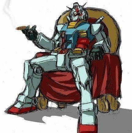 The boss of mecha anime genre : Gundam