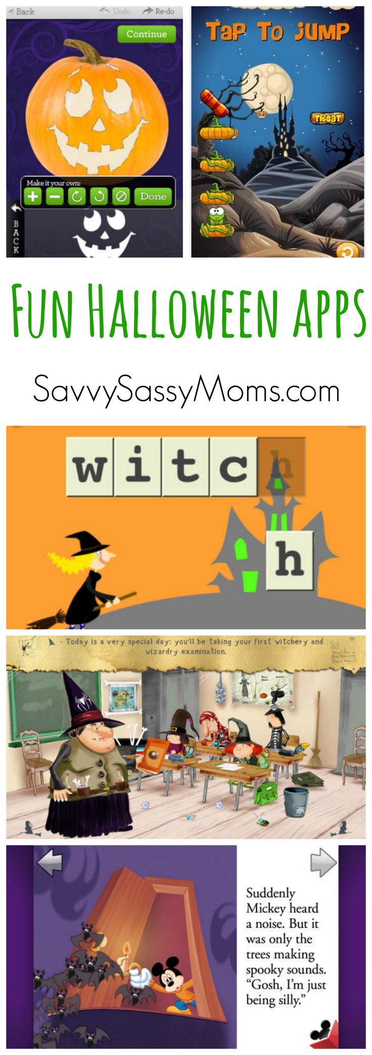 Great Halloween apps for kids