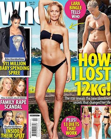 Lara Bingle: How I Lost 12KG!