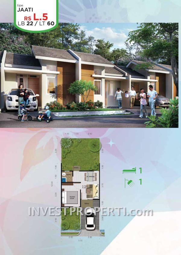 Rumah Citra Maja Raya 2 Tipe L5