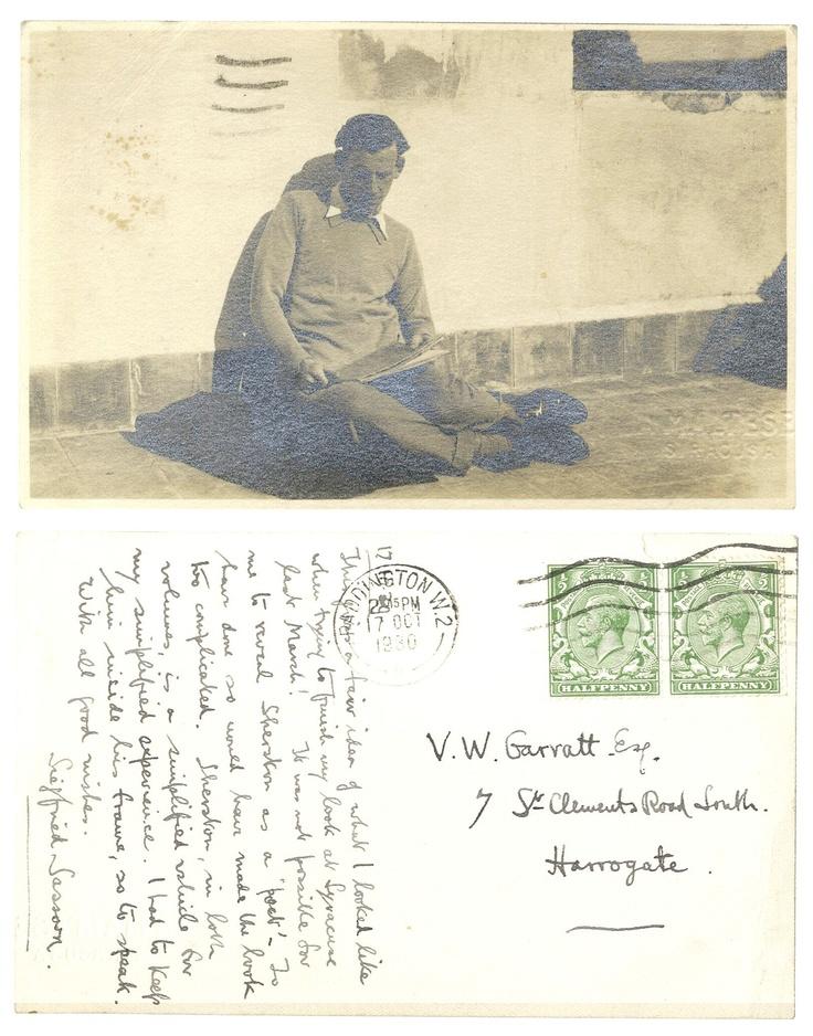 Postcards of Siegfried Sassoon