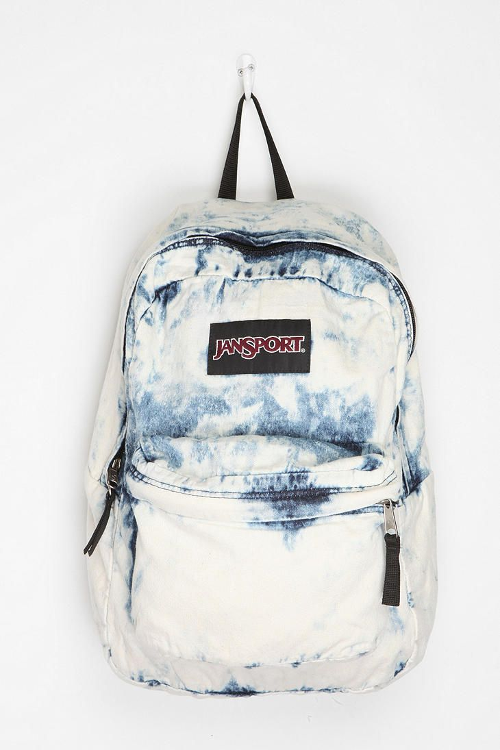'Flaunt during the day'  Jansport Denim Backpack  #UrbanOutfitters  $49  Carry this rocker-esque bag during the day for all your necessities.