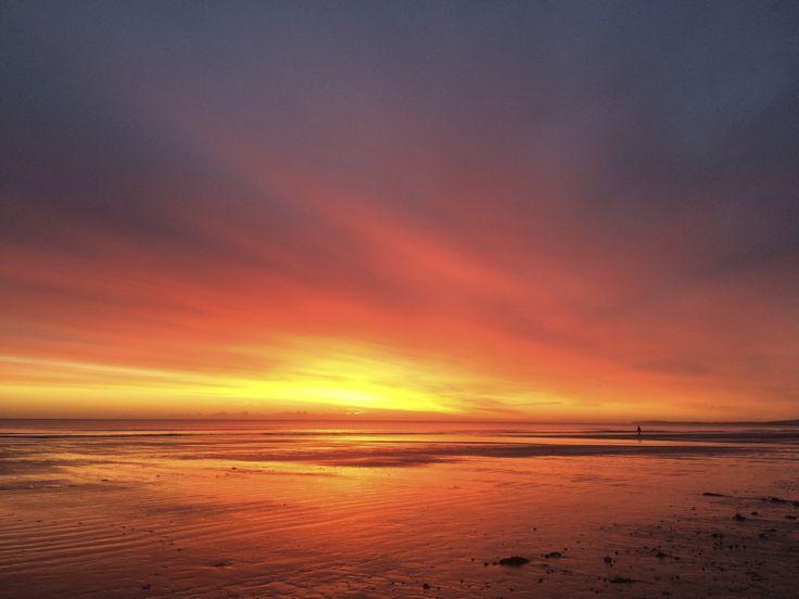 Stunning sunrise mid-January 2014, who said Winter was grey?