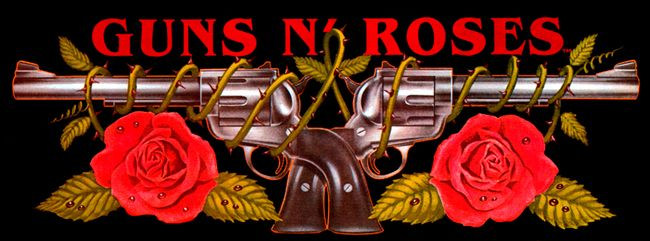 "Oficial Guns N"" Roses.*"