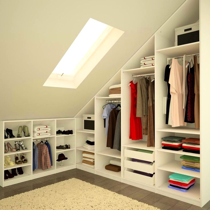 Attic Ideas Extraordinary Best 25 Attic Bedroom Closets Ideas On Pinterest  Attic Bedroom Inspiration Design