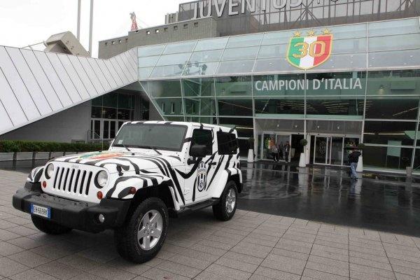 Jeep Wrangler Juventus FC