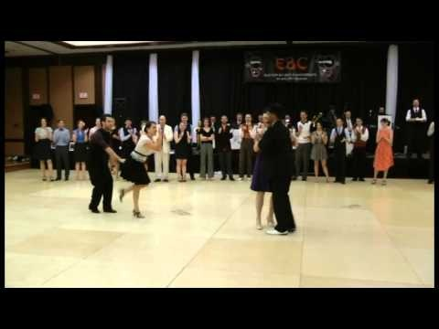 EBC 2011.  This is one of the epic battles that happened during the Eastern Balboa Championships Classic finals. We can see Fred Barbe & Patricia Brodeur Vs Javier Johnson and Heather Ballew. This Fred's special cut. Enjoy!    www.ibalboa.com  www.fredericbarbe.com  www.swingdancemontreal.com