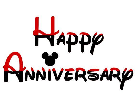 Custom personalized happy anniversary disney cruise line